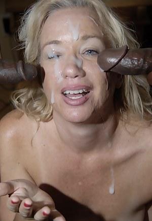 Hot MILF Bukkake Porn Pictures