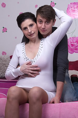 Hot MILF and Boy Porn Pictures