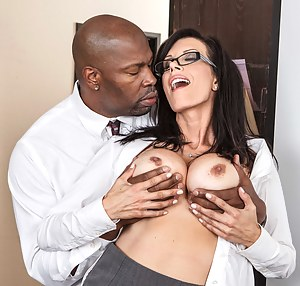 Hot MILF Glasses Porn Pictures